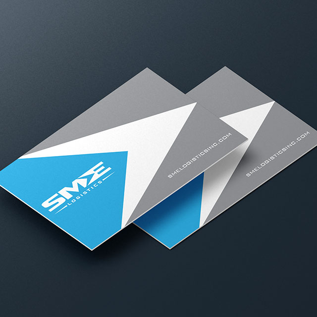 SME Logistics Business Cards